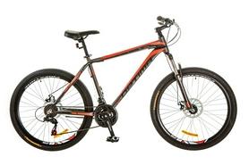 """Велосипед горный Optimabikes Motion AM 14G DD Al 26"""" 2017 серо-красный, рама - 16"""""""