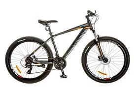 """Велосипед горный Optimabikes F-1 AM 14G HDD Al 26"""" 2017 черно-оранжевый, рама - 17"""""""