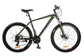 """Велосипед горный Optimabikes F-1 AM 14G DD Al 27.5"""" 2017 серо-зеленый, рама - 19"""""""