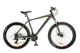 """Велосипед горный Optimabikes F-1 AM 14G DD Al 27.5"""" 2017 черно-оранжевый, рама - 19"""""""