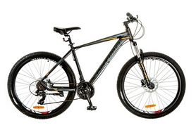 """Велосипед горный Optimabikes F-1 AM 14G HDD Al 27.5"""" 2017 черно-оранжевый, рама - 19"""""""
