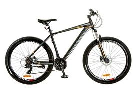 """Велосипед горный Optimabikes F-1 AM 14G HDD Al 29"""" 2017 черно-оранжевый, рама - 21"""""""
