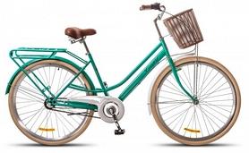 """Велосипед городской женский Dorozhnik Comfort Female 14G Planеtary hub 28"""" 2017 бирюзовый, рама - 19"""""""
