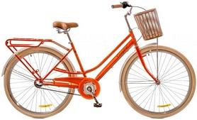"""Велосипед городской Dorozhnik Comfort Female 14G 28"""" 2017 персиковый, рама - 19"""""""