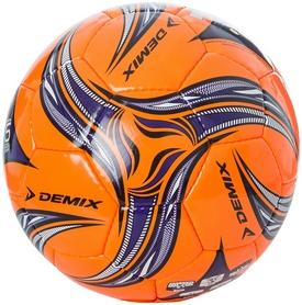 Мяч футбольный Demix DF55W-E15 оранжевый