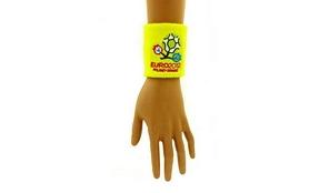 Фото 1 к товару Распродажа*! Повязка на кисть (напульсник) EURO-2012 желтый