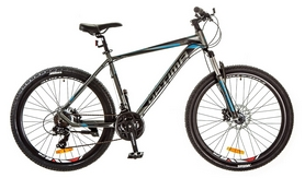 "Велосипед горный Optimabikes Motion AM 29"" 14G DD Al 2017 черно-синий, рама - 21"""