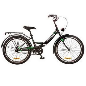 """Велосипед складной Formula Smart 24"""" 2017 черно-зеленый, рама - 15"""""""