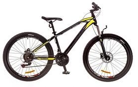 """Велосипед подростковый горный Formula Blaze PRO 26"""" 2017 черно-желтый, рама - 15"""""""
