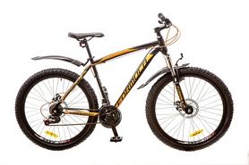 """Велосипед подростковый горный Formula Blizzard AM 14G DD 26"""" 2017 черно-оранжевый, рама - 19"""""""
