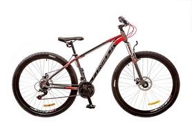 """Велосипед подростковый горный Formula Dragonfly AM 14G DD 29"""" 2017 серо-красный, рама - 16"""""""
