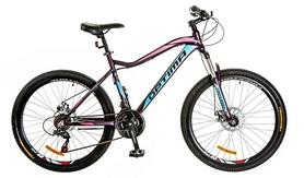 """Велосипед горный женский Optimabikes Alpina AM 26"""" 14G DD Al 2017 фиолетово-голубой, рама - 18"""""""