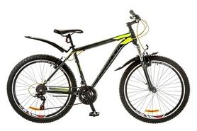 """Велосипед горный Formula Dynamite AM 14G Vbr 26"""" 2017 серо-желтый, рама - 21"""""""