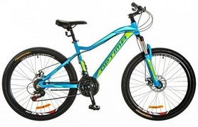 """Велосипед горный Optimabikes Alpina AM 26"""" 14G DD Al 2017 голубой, рама - 18"""""""