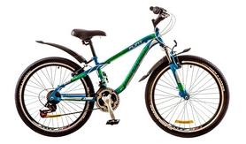 """Велосипед горный подростковый Discovery Flint AM 14G 24"""" 2017 зеленый, рама - 13"""""""