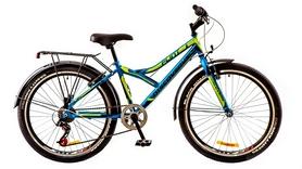 """Велосипед городской подростковый Discovery Flint 14G 24"""" 2017 синий, рама - 14"""""""