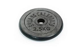 Фото 7 к товару Гантели наборные обрезиненные TA-1436-50R 2 шт по 25 кг