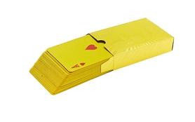 Распродажа*! Карты игральные с пластиковым покрытием Gold 100 Dollar IG-4566-G