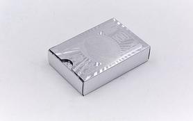 Фото 2 к товару Карты игральные с пластиковым покрытием SILVER 100 DOLLAR IG-4566-S