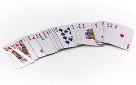 Фото 4 к товару Карты игральные с пластиковым покрытием SILVER 100 DOLLAR IG-4566-S