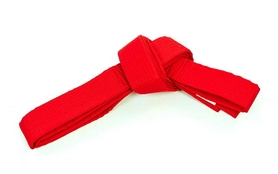 Пояс для кимоно Champion красный