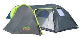 Фото 1 к товару Палатка четырехместная GreenCamp 1009
