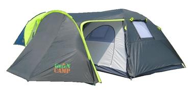 Палатка четырехместная GreenCamp 1009