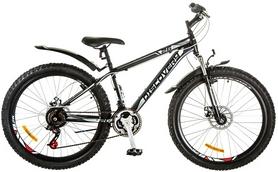 """Велосипед горный Discovery Trek AM 14G DD 26"""" 2017 черно-серо-белый, рама - 15"""""""