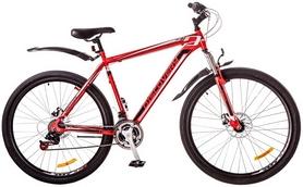 """Велосипед горный Discovery Trek AM 14G DD 29"""" 2017 красно-черно-белый, рама-21"""""""
