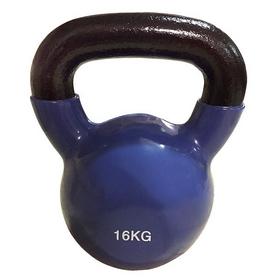 Гиря виниловая Rising 16 кг синяя