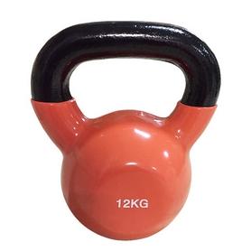 Гиря виниловая Rising 12 кг оранжевая