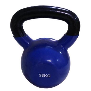 Гиря виниловая Rising 28 кг синяя