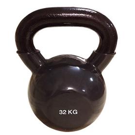 Гиря виниловая Rising 32 кг черная