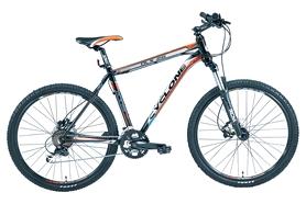 """Велосипед горный Cyclone DLX win16-013 26"""" черный, рама - 19"""""""
