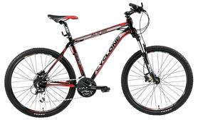 """Велосипед горный Cyclone ALX win16-017 26"""" черный, рама - 21"""""""