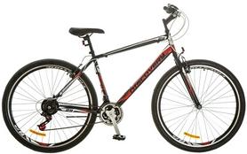 """Велосипед городской Discovery Attack 14G Vbr 29"""" 2017 черно-красно-белый, рама - 19,5"""""""