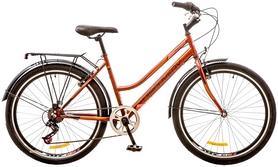 """Велосипед женский городской Discovery Prestige Woman 14G Vbr 26"""" 2017 оранжевый, рама - 17"""""""