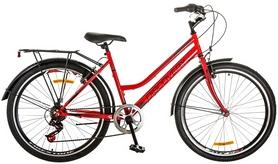 """Велосипед городской женский Discovery Prestige Woman 14G Vbr 26"""" 2017 красный, рама - 17"""""""