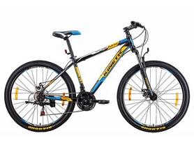 """Велосипед горный Kinetic Unic-steel 27,5"""" черно-оранжевый, рама - 19"""""""
