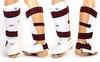 Защита для ног (голень+стопа) разбирающаяся ZLT BO-4080-W белая - фото 2