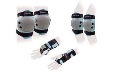 Защита для катания (комплект) Kepai Protectors синий