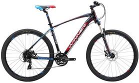 """Велосипед горный Winner Drive 27,5"""" черно-красный, рама - 17"""""""