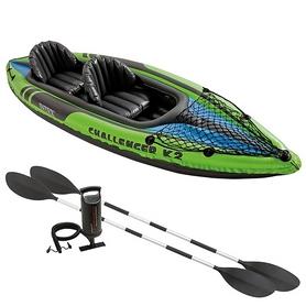 Байдарка надувная Challenger K2 Kayak Intex 68306