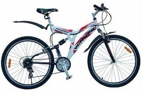 "Велосипед горный Winner Panther – Disk 26"" бело-красный, рама – 21"""