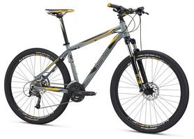 """Велосипед горный Mongoose Tyax Comp 27,5"""" 2016 серый, рама - М"""