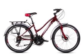 """Велосипед городской женский Ardis Juliet 26"""" вишневый, рама - 19"""""""