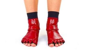 Фото 2 к товару Защита для ног (стопа) ZLT BO-2601-R красная
