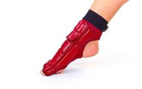 Фото 4 к товару Защита для ног (стопа) ZLT BO-2601-R красная