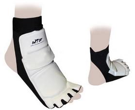 Распродажа*! Защита для ног (стопа) ZLT BO-2601-W белая - XL
