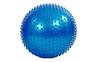 Мяч для фитнеса (фитбол) массажный HMS 55 см голубой - фото 1